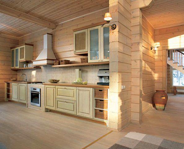Дизайн дома из бруса внутри Фото интерьеров от лучших