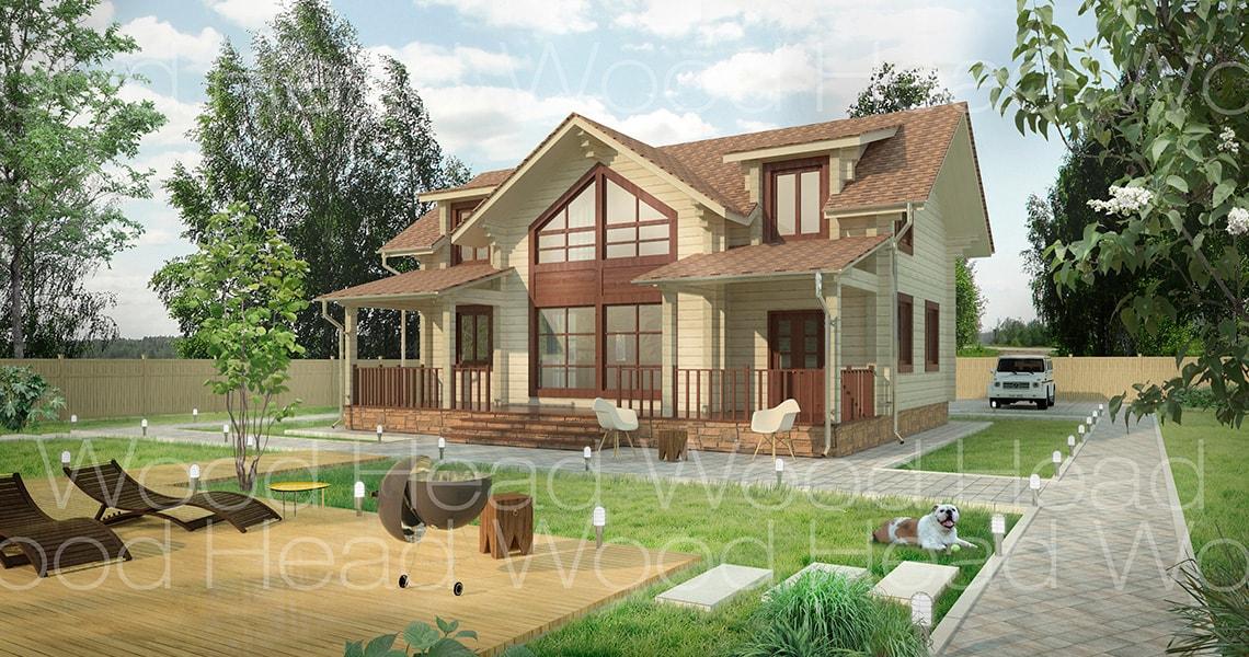 Проекты Домов И Коттеджей Их Бруса