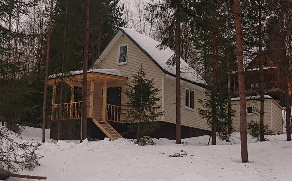 Готовый дом из клееного бруса